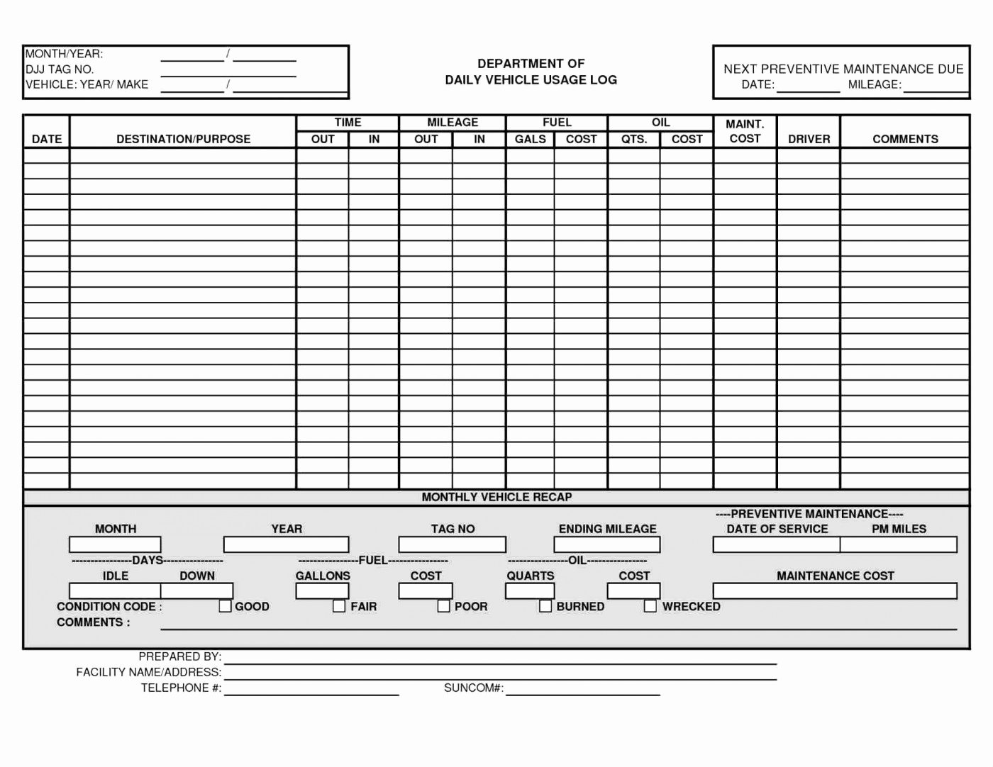 Car Maintenance Schedule Template Awesome Oil Change Excel Spreadsheet Google Spreadshee Oil Change