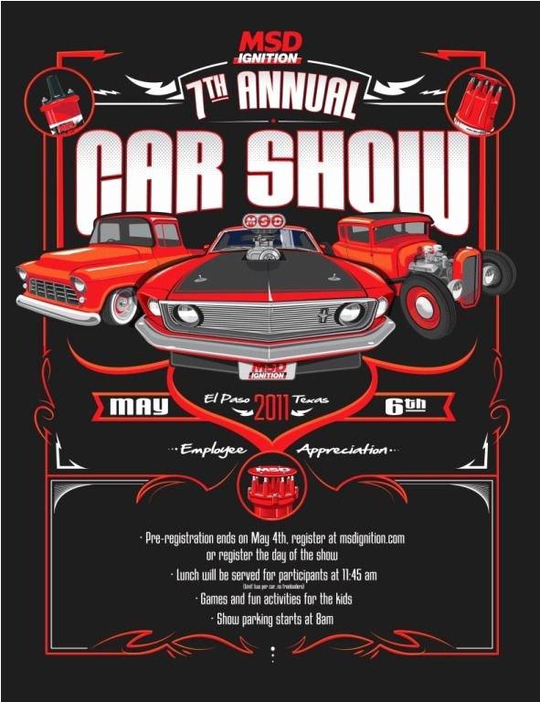 Car Show Flyer Template Best Of Msd Car Show Flyer Automotive Pinterest