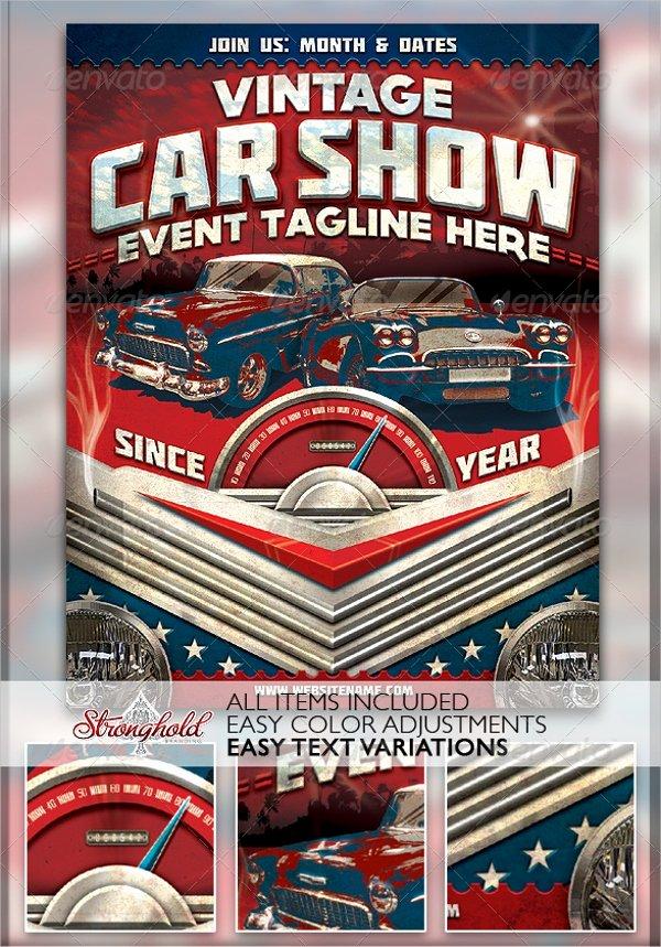 Car Show Flyer Template Fresh 21 Car Show Flyer Templates Psd In Design Ai