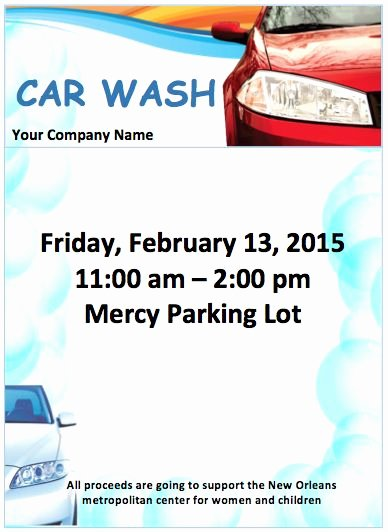 Car Wash Flyer Template Awesome 56 Best Images About Free Flyer Designs On Pinterest