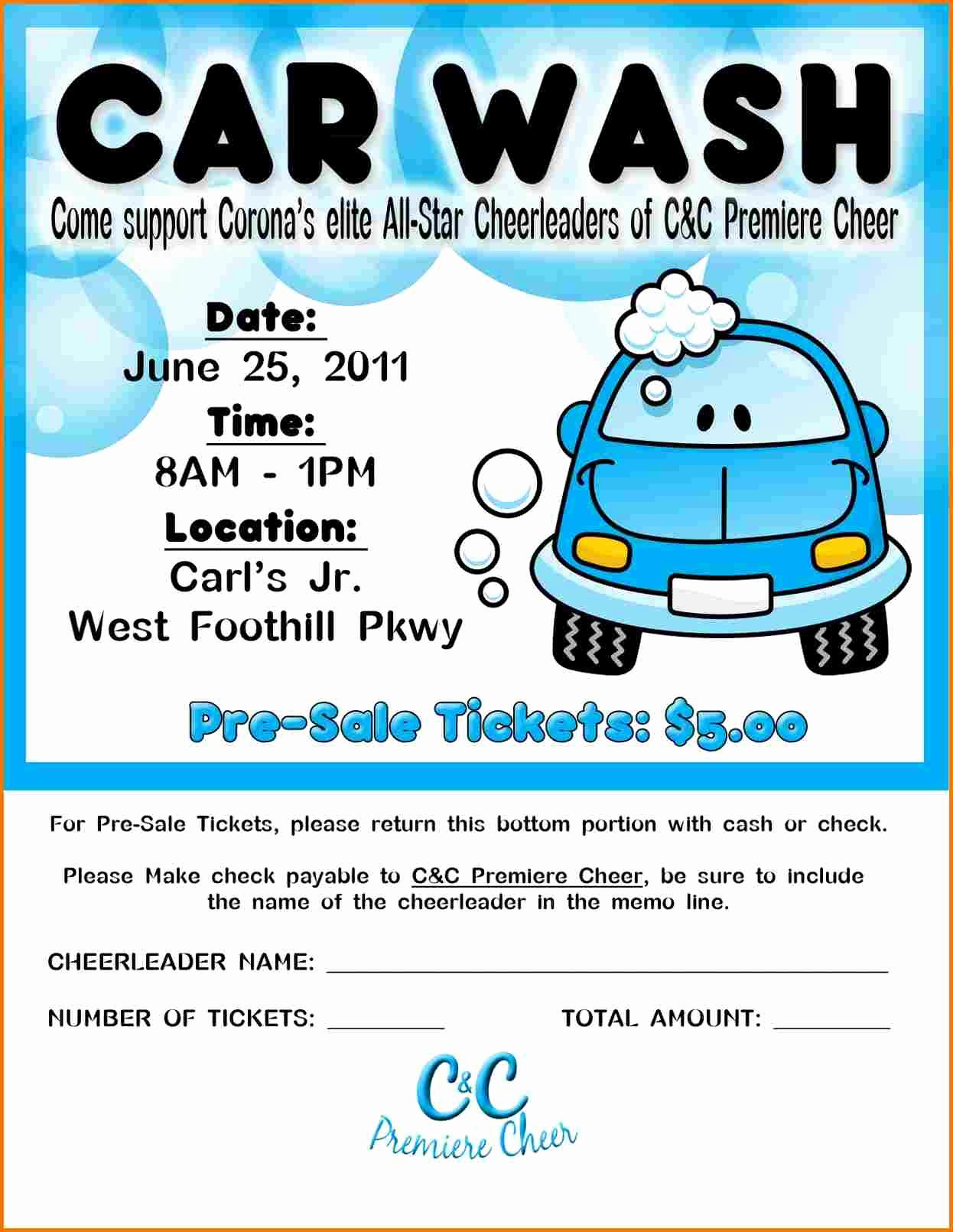 Car Wash Flyer Template Awesome Car Wash Flyer Template