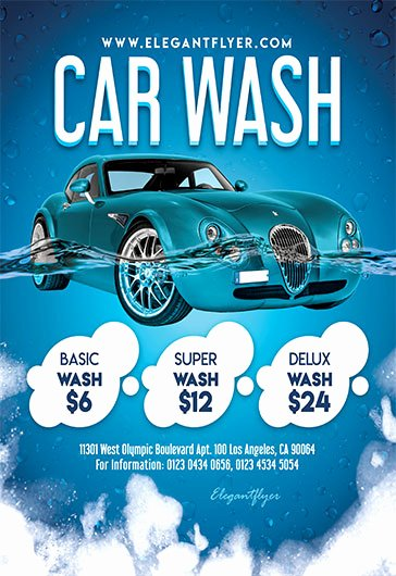 Car Wash Flyer Template Elegant Car Wash Flyer Template Free Cti Advertising