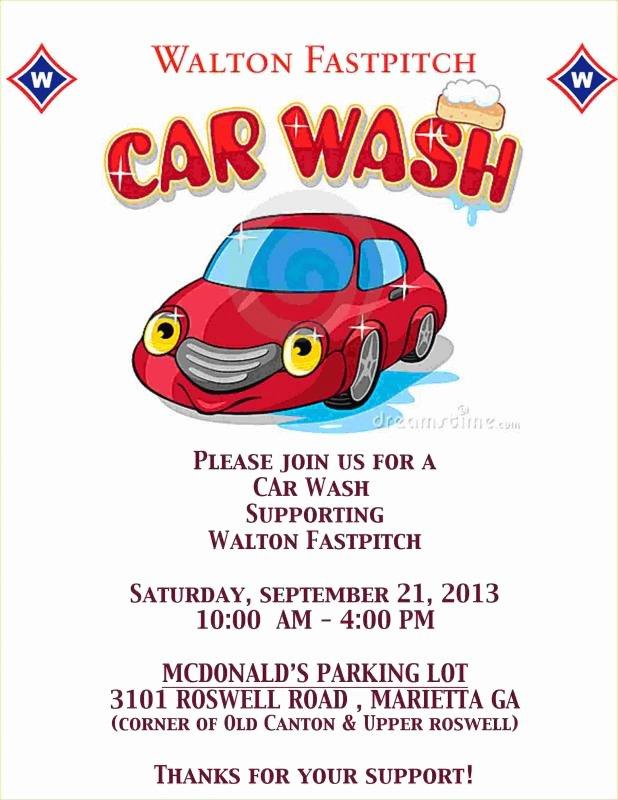 Car Wash Flyer Template Fresh Car Wash Flyer