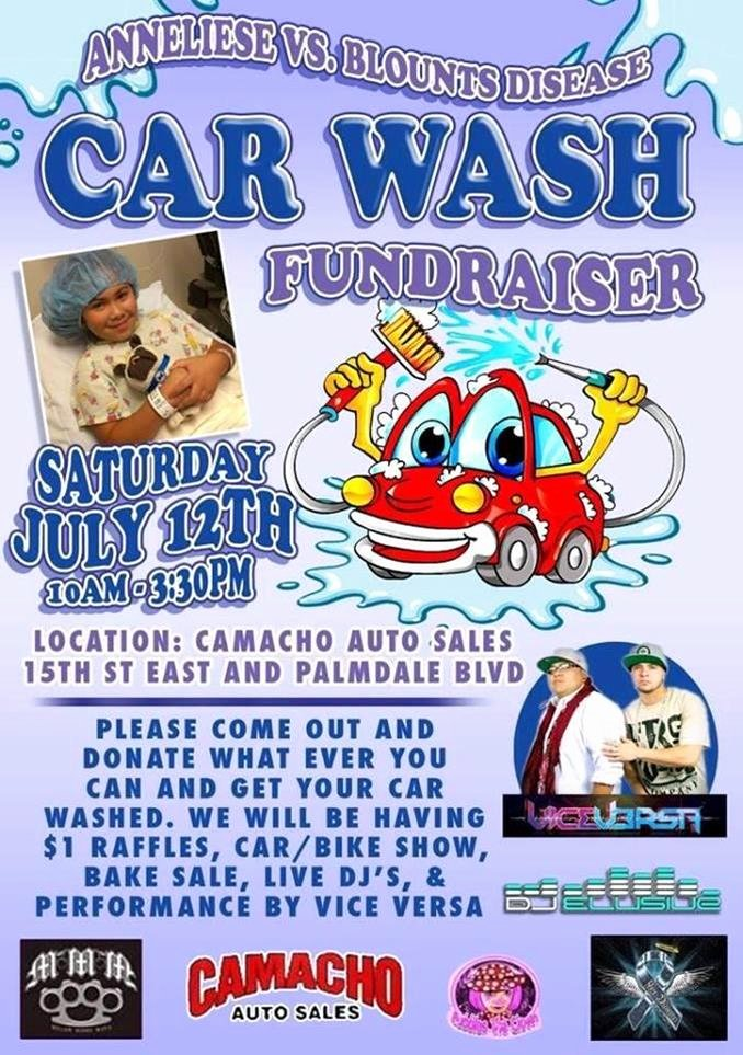 Car Wash Flyer Template Fresh Fundraiser Saturday for Local Youngster with Rare Condition