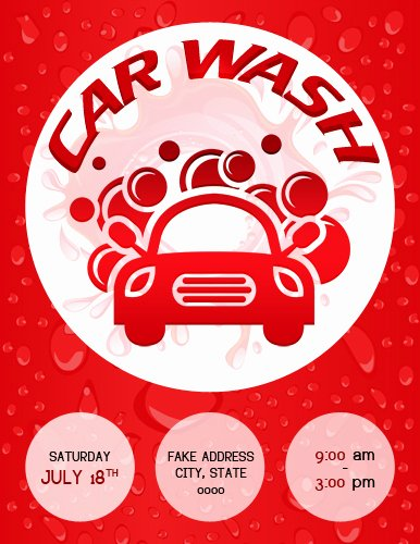 Car Wash Flyer Template Fresh Ms Word Car Show Flyer Template