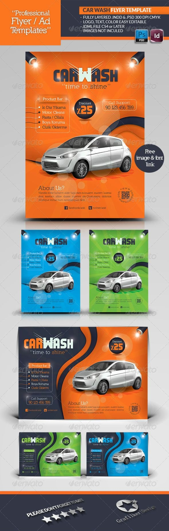 Car Wash Flyer Template Inspirational Car Wash Flyer Template
