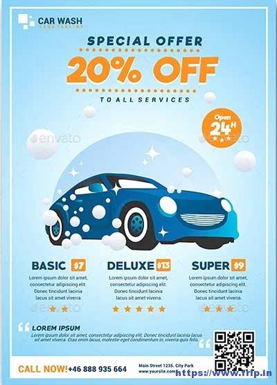 Car Wash Flyer Template Lovely 20 Best Car Wash Flyer Print Templates 2018