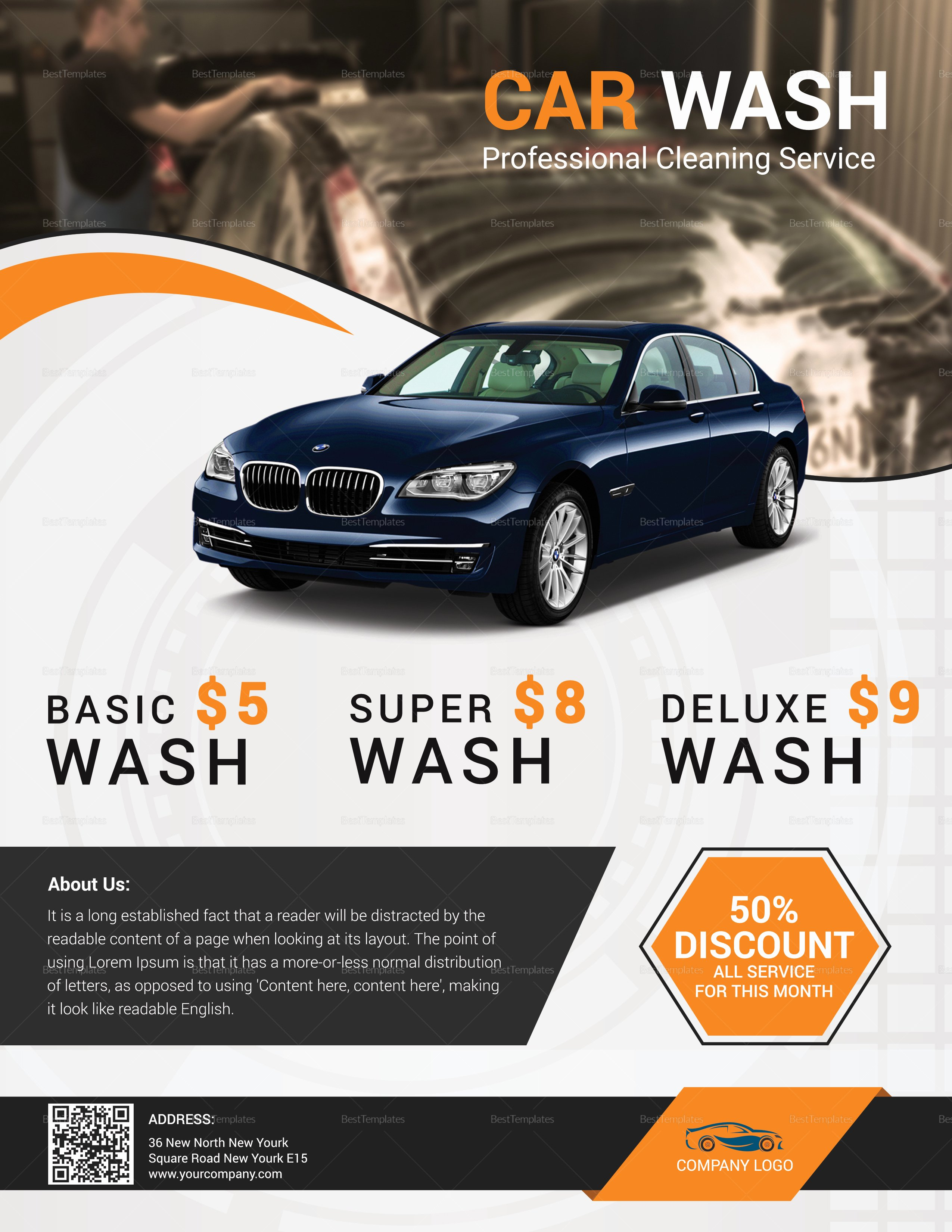 Car Wash Flyer Template Lovely Special Car Wash Flyer Design Template In Word Psd Publisher