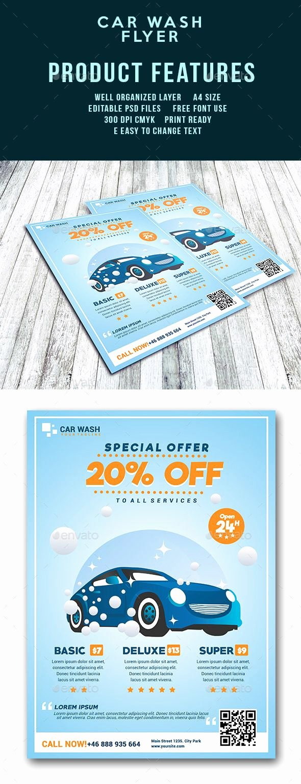 Car Wash Flyer Template New Best 25 Mobile Car Wash Ideas On Pinterest