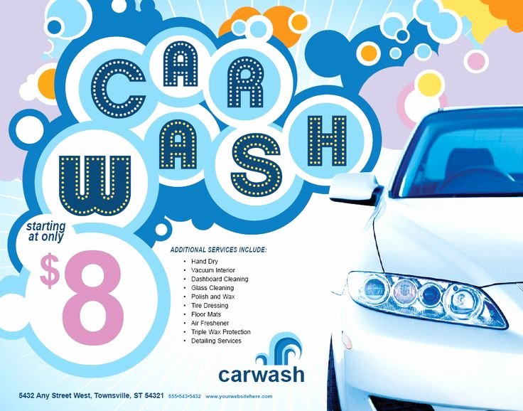 Car Wash Flyer Template Unique 17 Best Images About Car Wash Flyer Inspiration On
