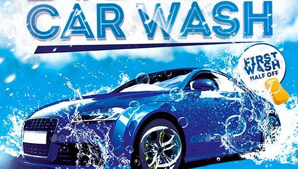Car Wash Flyer Template Unique 46 Car Wash Flyer Templates Free & Premium Psd Vector