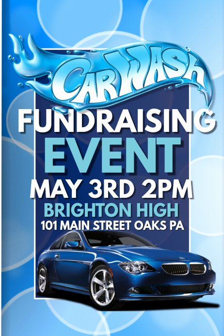 Car Wash Fundraiser Flyer Template Best Of Car Wash Template
