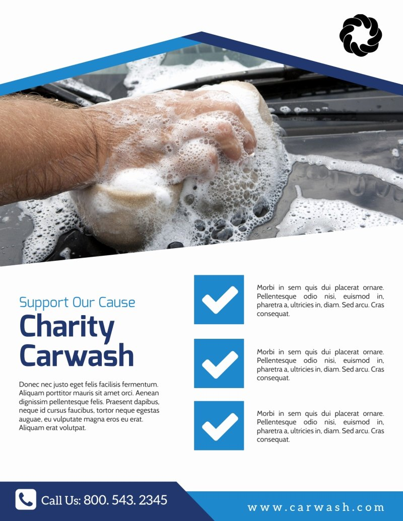 Car Wash Fundraiser Flyer Template Fresh Charity Car Wash Fundraiser Flyer Template