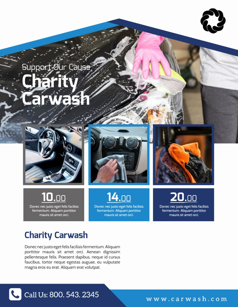 Car Wash Fundraiser Flyer Template Luxury Charity Car Wash Fundraiser Flyer Template