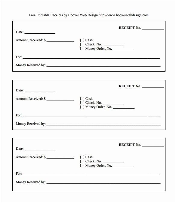 Cash Receipt Template Pdf Beautiful Sample Cash Receipt Template 13 Free Documents In Pdf Word