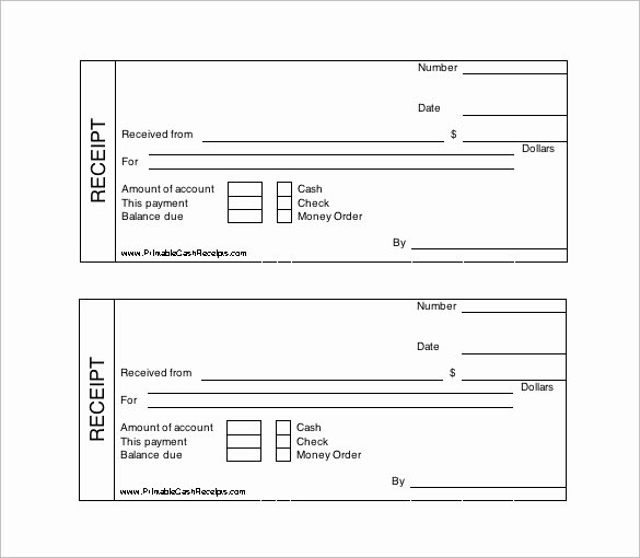 Cash Receipt Template Word Doc Beautiful Receipt Template Doc for Word Documents In Different Types