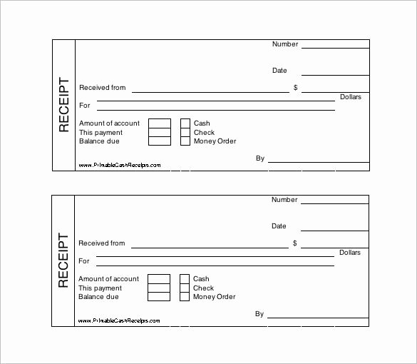 Cash Receipt Template Word Doc Best Of Printable Cash Receipt Template Free Receipt Template
