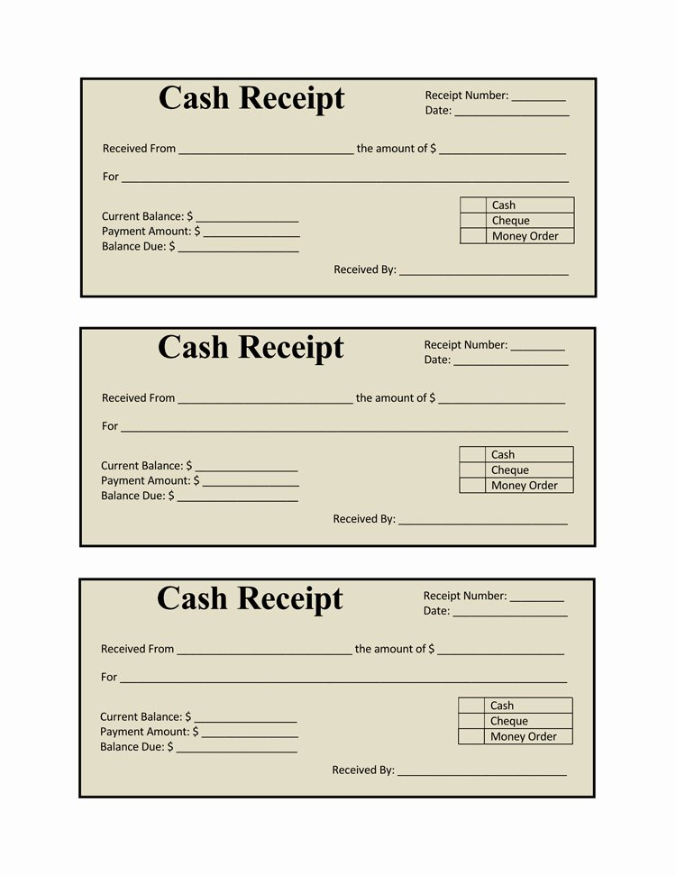 Cash Receipt Template Word Doc Fresh 17 Free Cash Receipt Templates for Excel Word and Pdf