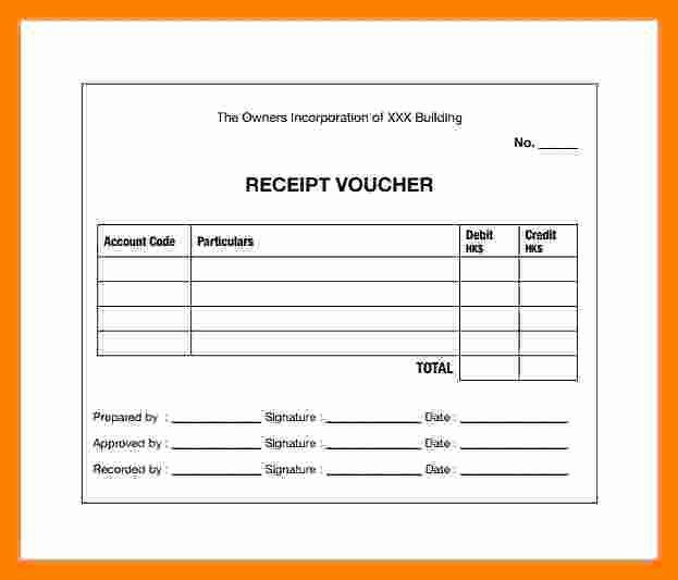 Cash Receipt Template Word Doc Luxury 7 Cash Payment Voucher format In Word