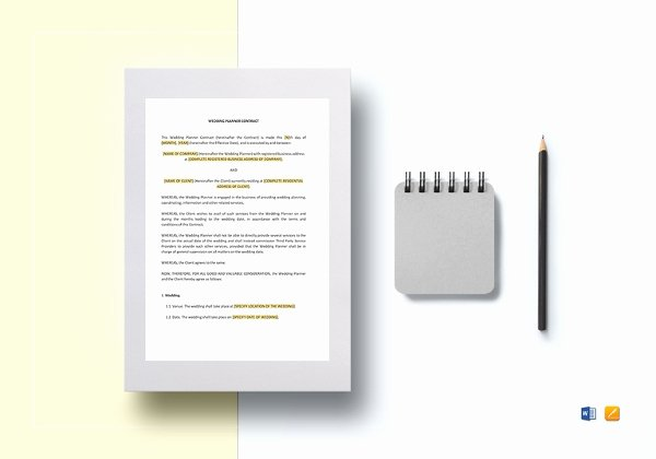 Catering Contracts Template Free Lovely 11 Catering Contract Templates Docs Pages
