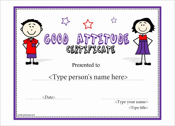 Certificate Of attendance Template Free Awesome attendance Certificate Templates
