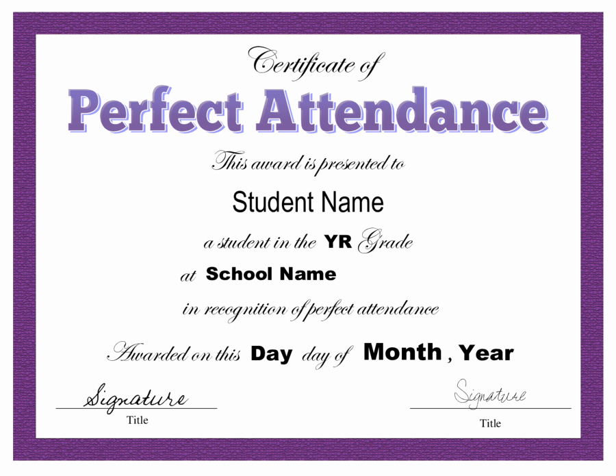 Certificate Of attendance Template Free Fresh Certificate Templates Certificate Of attendance Free