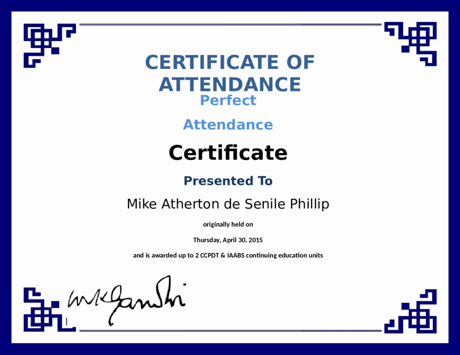 Certificate Of attendance Template Free New 2019 Certificate Of attendance Fillable Printable Pdf