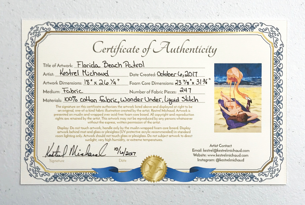 Certificate Of Authenticity Artwork Template Fresh Certificates Of Authenticity