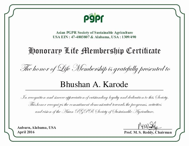 Certificate Of Membership Template Beautiful 14 Honorary Life Certificate Templates Pdf Docx