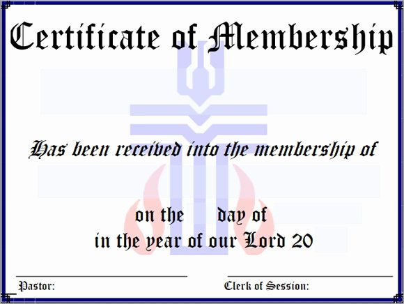 Certificate Of Membership Template Fresh Sample Membership Certificate 13 Documents In Pdf Psd