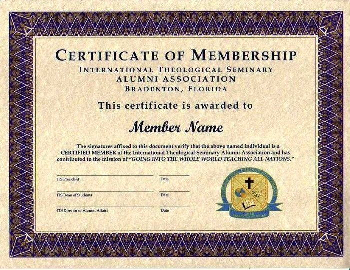 Certificate Of Membership Template Lovely Purple Certificate Membership Template 700×540