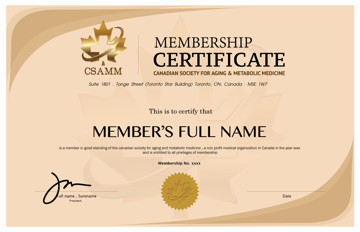 Certificate Of Membership Template New 8 Medical Membership Certificate Templates Pdf