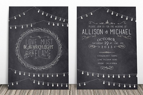 Chalkboard Invitation Template Free Beautiful Chalkboard Invitation Template 43 Free Jpg Psd