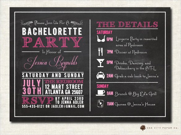 Chalkboard Invitation Template Free Best Of Chalkboard Invitation Template 43 Free Jpg Psd