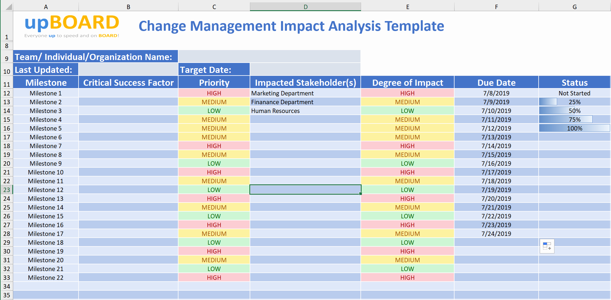 Change Impact Analysis Template Lovely Change Management Impact Analysis Line tools & Templates