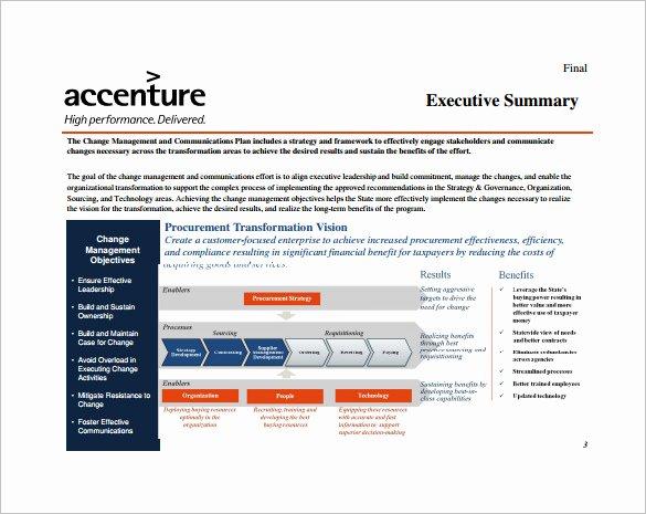 Change Management Plan Template Luxury organizational Change Proposal Template
