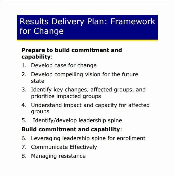 Change Management Plan Template New 14 Change Management Plan Templates Free Sample