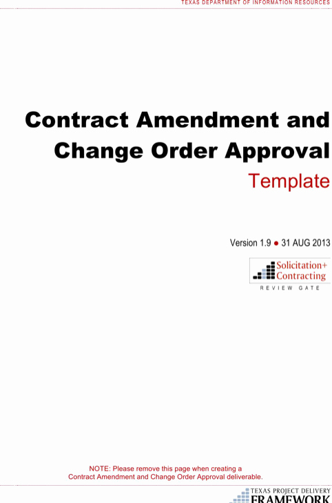 Change order Template Word Awesome Download Change order Template for Free formtemplate