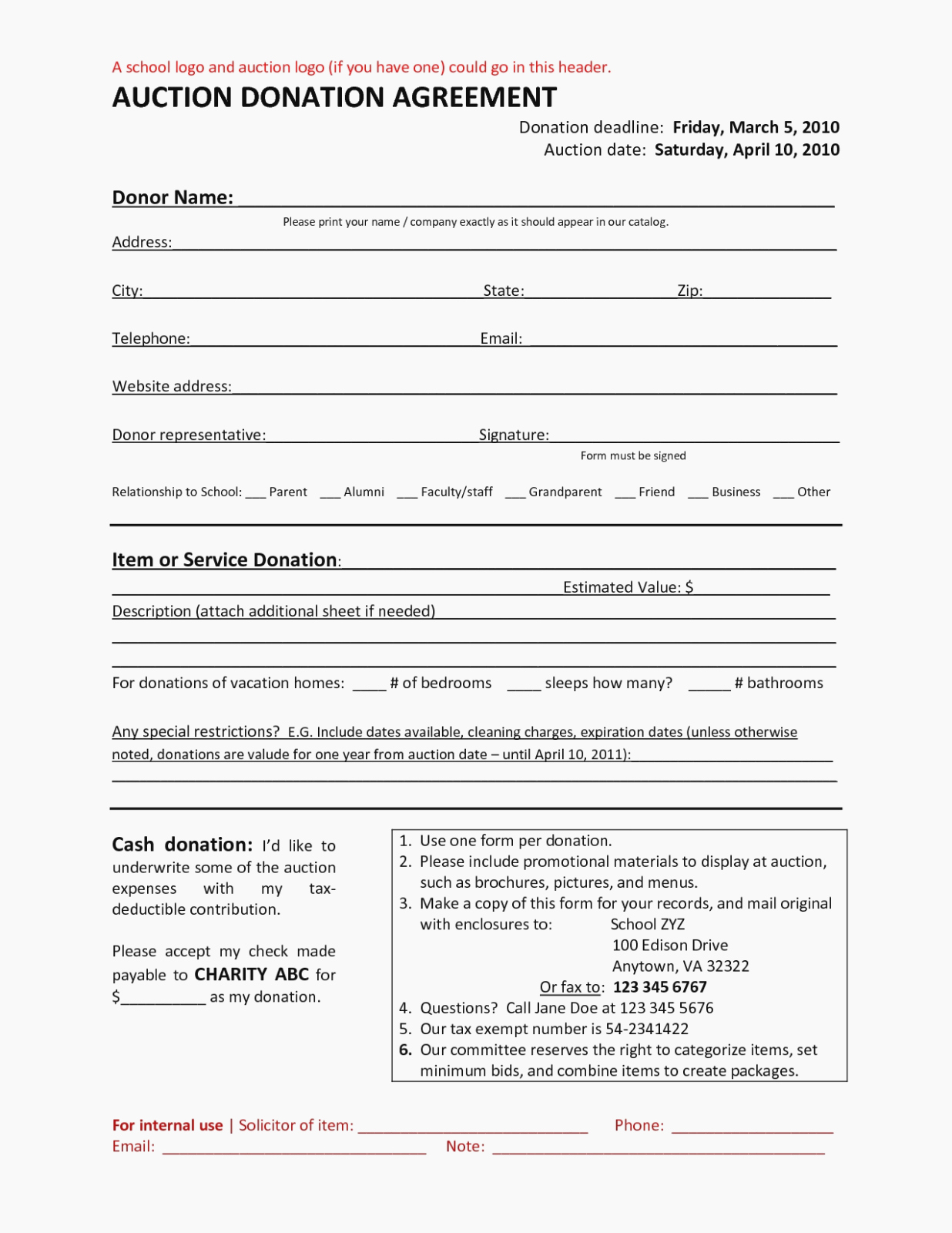Charitable Donation form Template Lovely is Charitable Donation