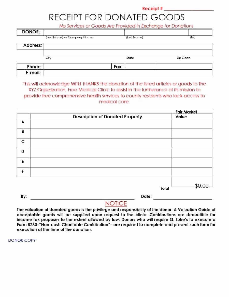 Charitable Donation form Template Unique 40 Donation Receipt Templates & Letters [goodwill Non Profit]