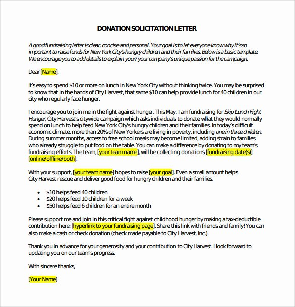 Charitable Donation Letter Template Fresh Donations Template