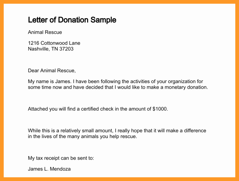 Charitable Donation Letter Template Inspirational 12 13 Charitable Contribution Letter Sample