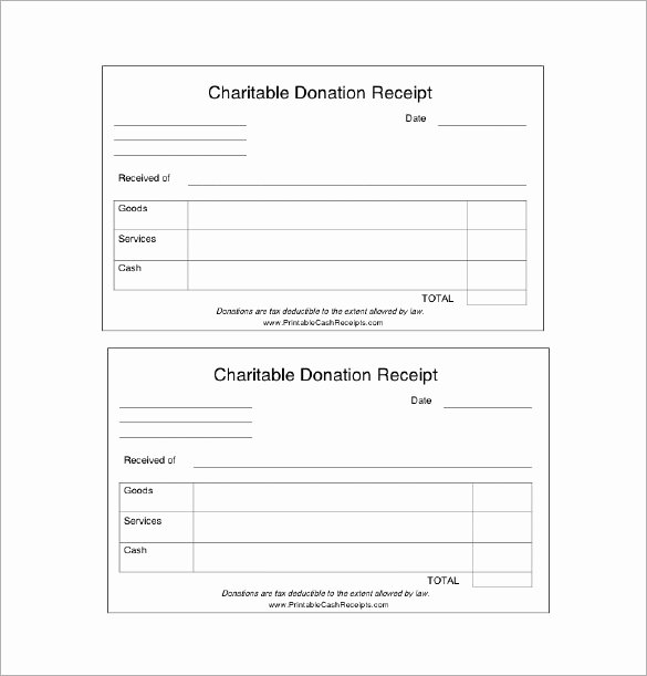 Charitable Donation Receipt Template Awesome Donation Receipt Template 12 Free Word Excel Pdf