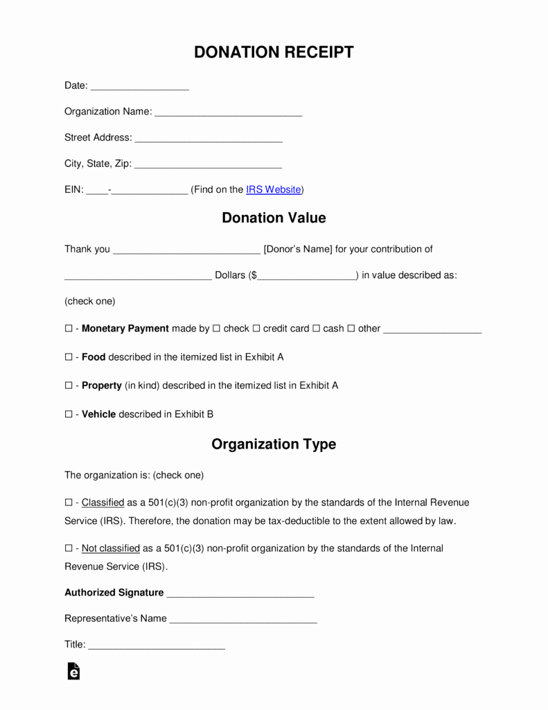 Charitable Donation Receipt Template New Free Donation Receipt Templates Samples Pdf