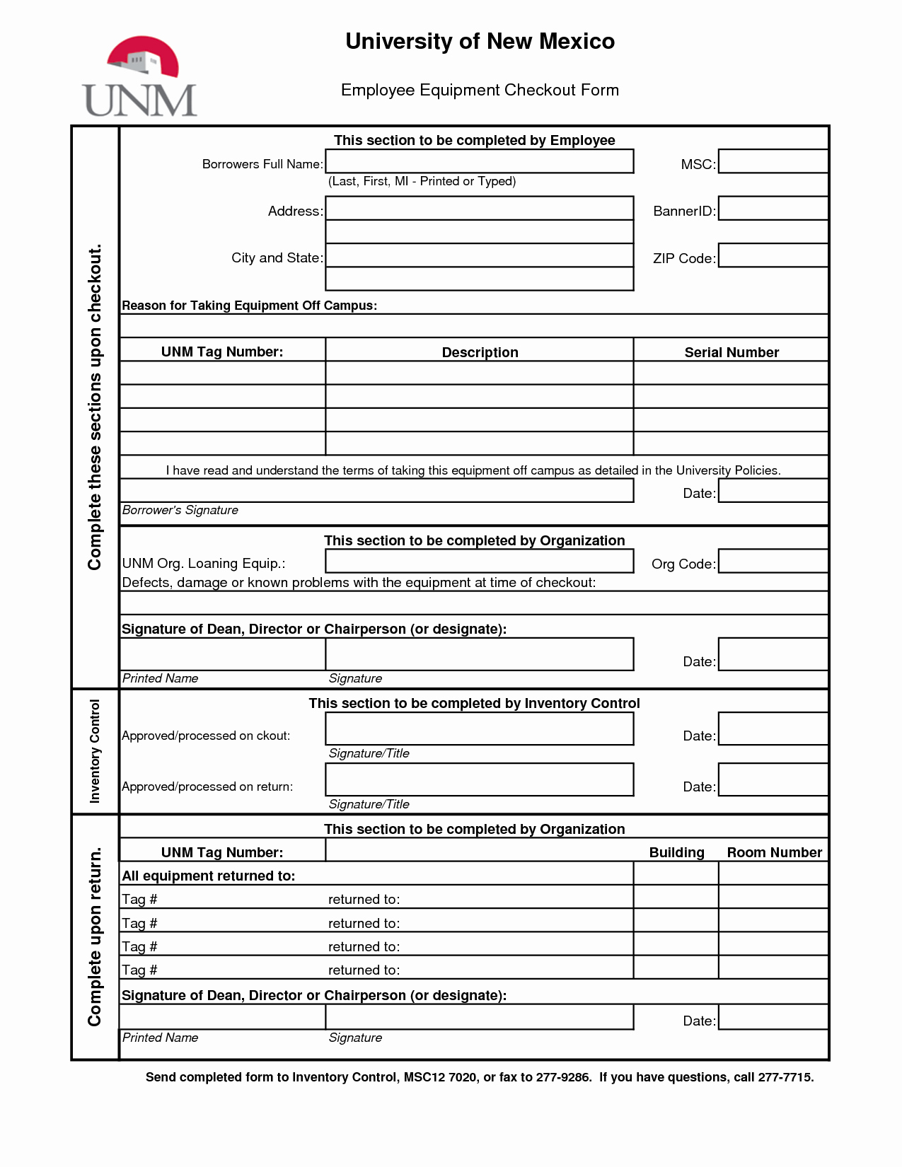 Check Out Sheet Template Best Of Best S Of Technology Check Out form Equipment Check