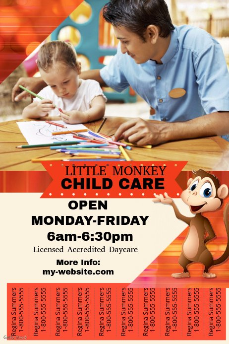 Child Care Flyer Template Beautiful Child Care Flyer Template