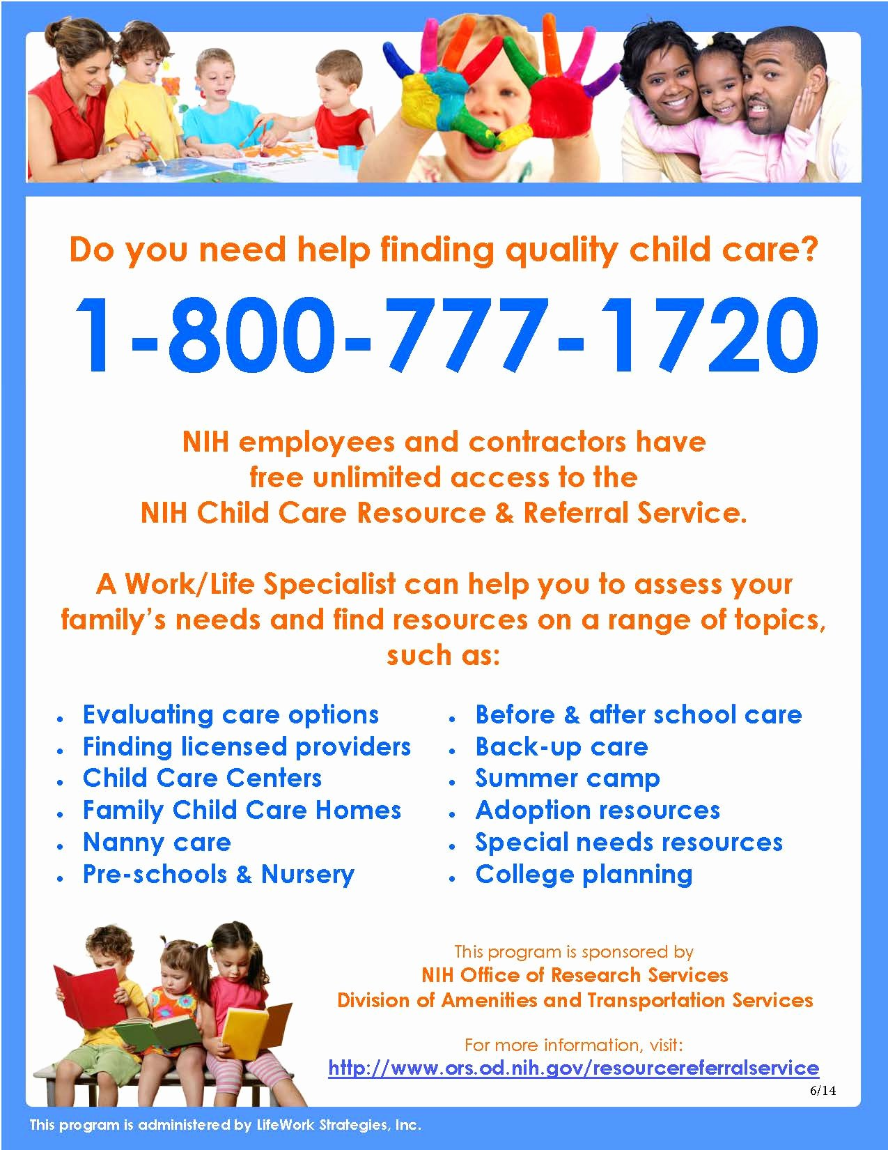 Child Care Flyer Template Fresh Resource & Referral Services