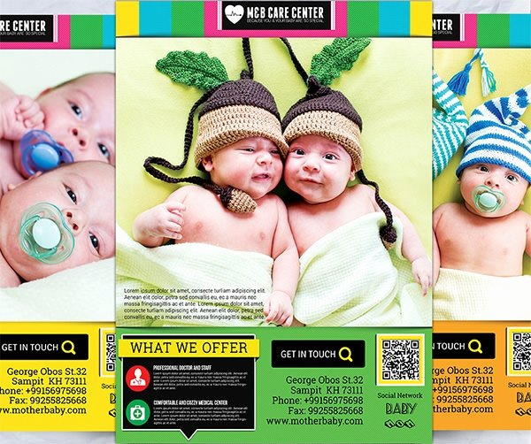 Child Care Flyer Template Unique Frre 17 Day Care Flyers In Word Psd Ai Eps Vector