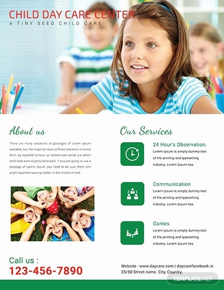 Child Care Flyer Templates Best Of 15 Beautiful Child Care Brochure Templates Docs Ai