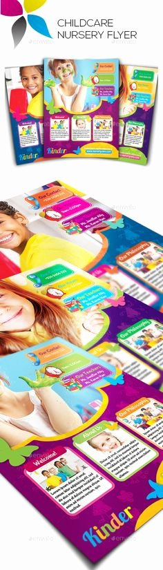 Child Care Flyer Templates Elegant Free Child Care Flyer Templates